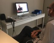Clients testing Fennex at Hearing Home GmbH